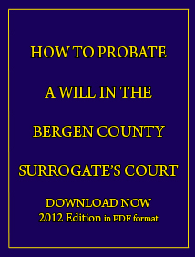 Bergen County Probate Attorneys