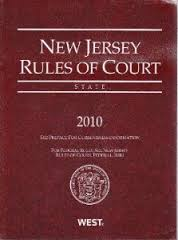 New Jersey Court Rules