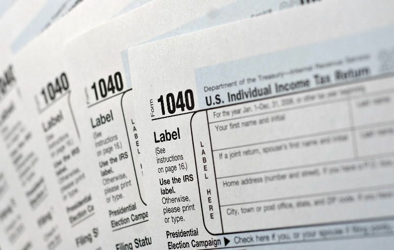 US INCOME TAX FORMS - NJ ATTORNEYS   BANKRUPTCY   LITIGATION   LAWYERS