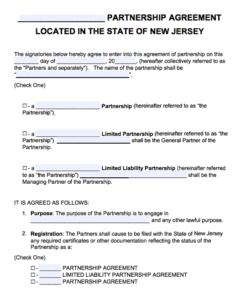 NJ Limited Partner Liability